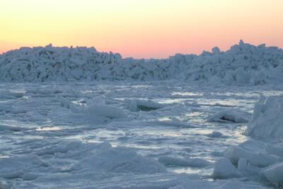 根室の流氷