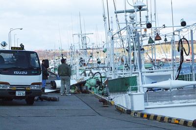 サケ・マス漁船