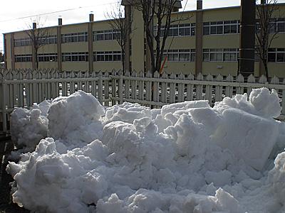 4月の吹雪